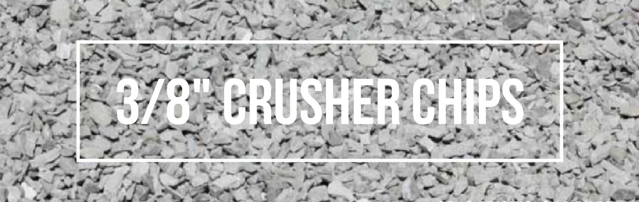 crusher chip, kelowna